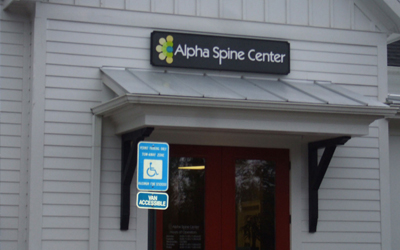 Alpha spine center