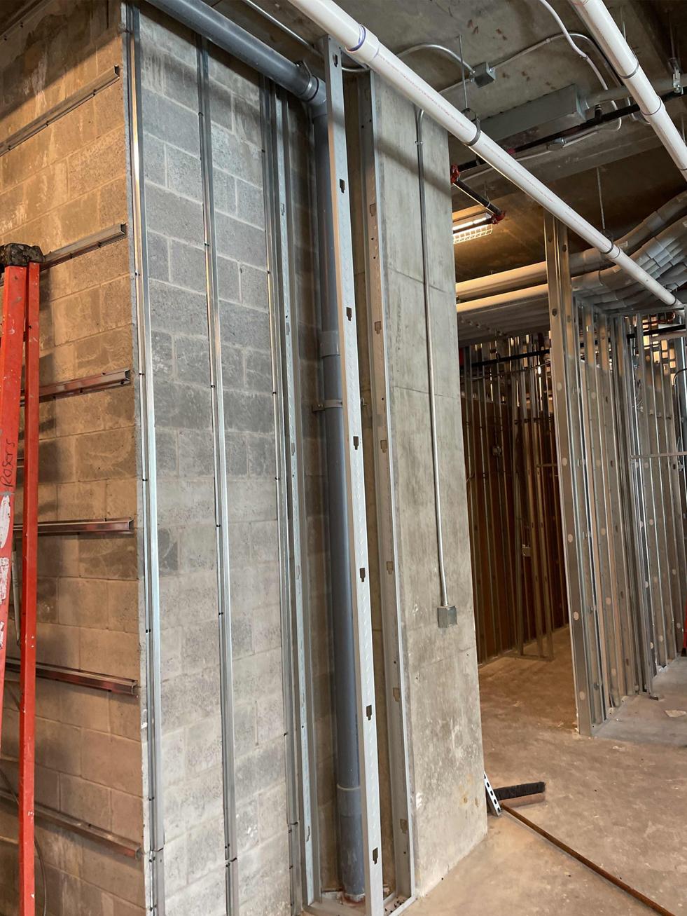Pour West Midtown Atlanta Construction